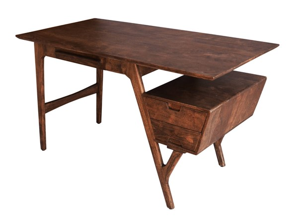 Coast to Coast Knoll Brown Writing Desk CTC-53446