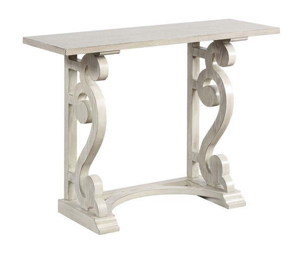 Coast To Coast White Writing Desk Consoles CTC-5564-CON-V