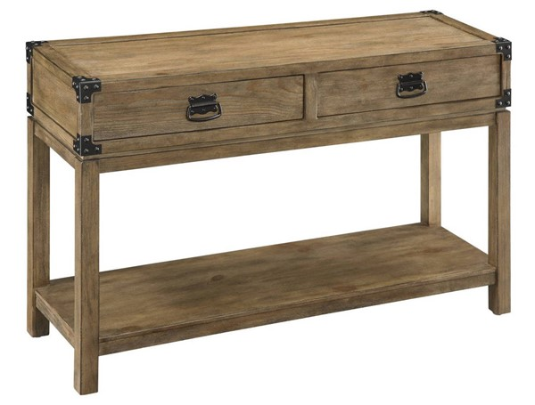 Coast to Coast Carmel Natural Two Drawers Console Table CTC-67458