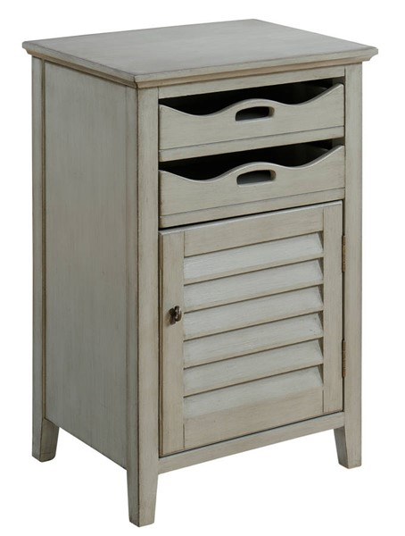 Coast to Coast Madrillon Grey One Door Two Drawers Cabinet CTC-70738