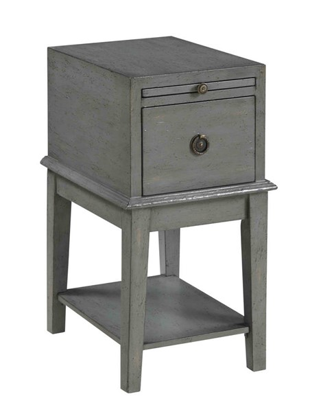 Coast To Coast Grey One Drawer Chairside Table CTC-70804