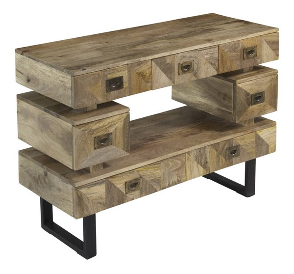 Coast to Coast Kerala Seven Drawer Media Console CTC-75330