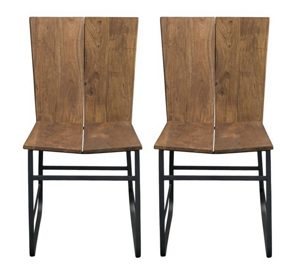 2 Coast to Coast Sequoia Light Brown Dining Chairs CTC-75356