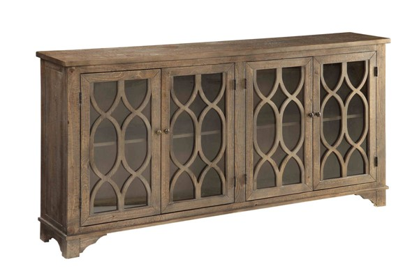 Coast to Coast Cayhill Brown Four Doors Media Credenza CTC-78618