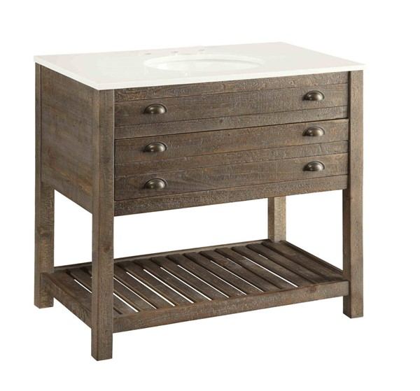 Coast to Coast Cayhill One Drawer Vanity Sink CTC-78626