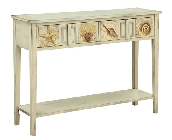 Coast to Coast Surfside Two Drawer Console Table CTC-91824