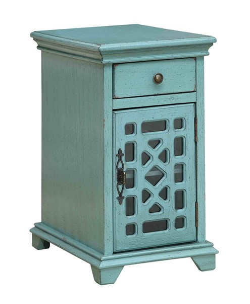 Coast to Coast Bayberry One Drawer One Door Chairside Cabinet CTC-96605