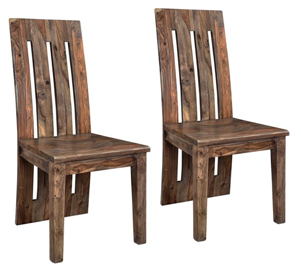 2 Coast to Coast Brownstone Brown Dining Chairs CTC-98236