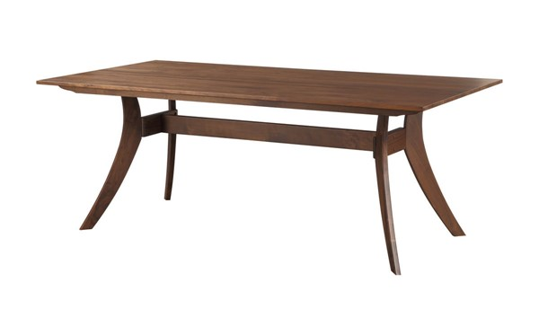 Castle Designs Florence Brown Rectangle Dining Table CTL-BC-1000-03