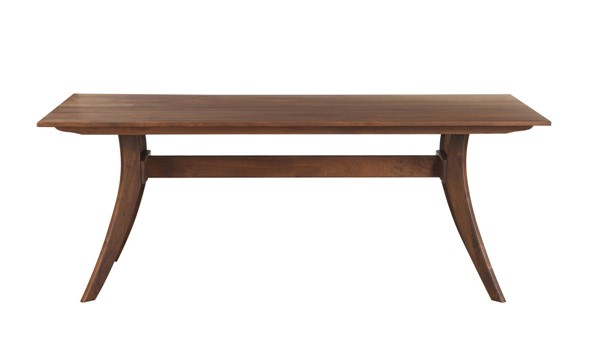 Castle Designs Florence Brown Rectangle Small Dining Table CTL-BC-1001-03