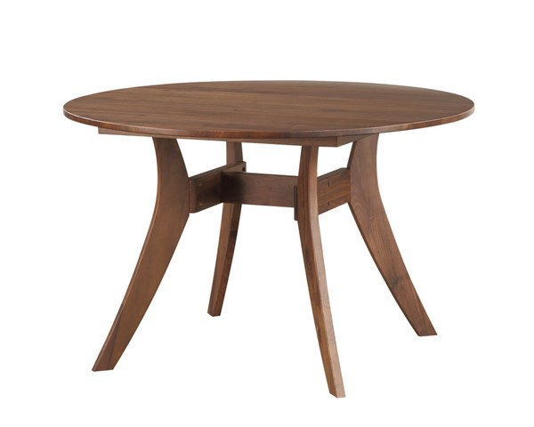Castle Designs Florence Brown Round Dining Table CTL-BC-1002-03