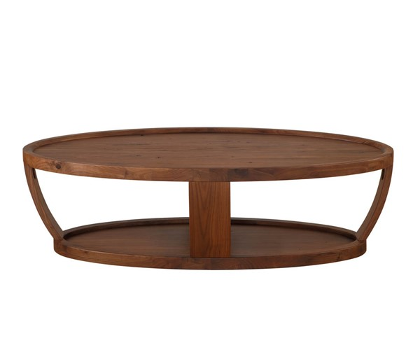 Castle Designs Dylan Natural Oval Coffee Table CTL-BC-1012-20