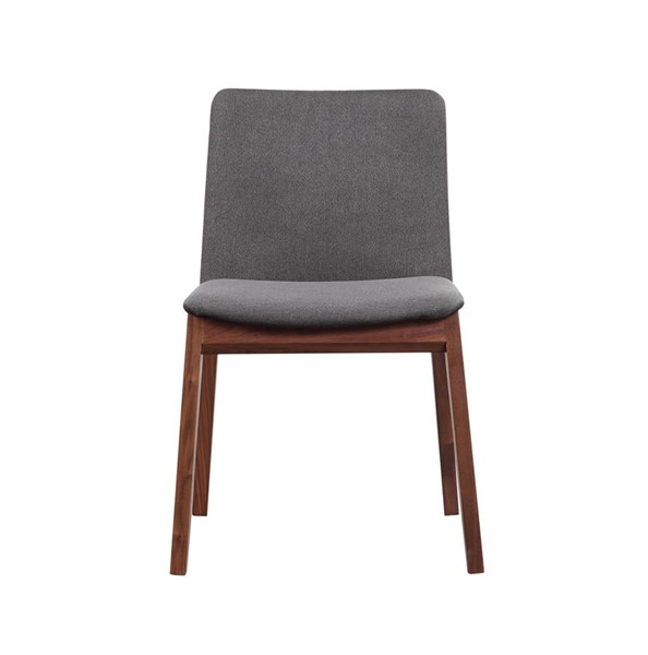 2 Moes Home Deco Grey Dining Chairs MOE-BC-1016-25