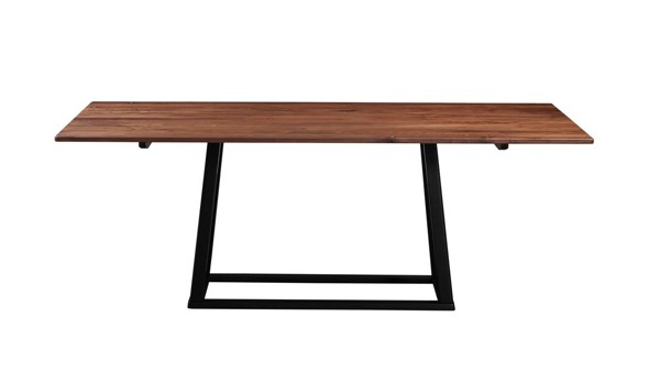 Moes Home Tri Mesa Brown Dining Table MOE-BC-1030-03