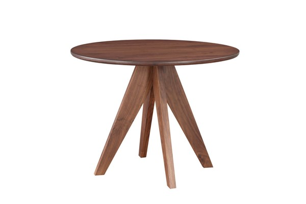 Castle Designs Manuela Brown Round Dining Table CTL-BC-1038-03