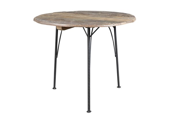 Castle Designs Saria Natural Round Cafe Table CTL-BX-1023-24