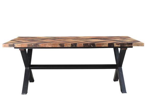 Castle Designs Zane Natural Small Dining Table CTL-BX-1032-24