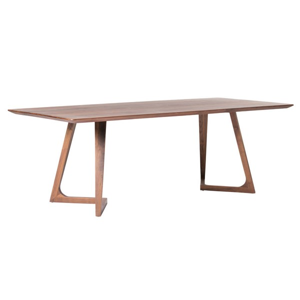 Moes Home Godenza Brown Rectangle Dining Table MOE-CB-1004-03