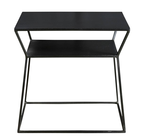 Moes Home Osaka Black Side Table MOE-DR-1178-02