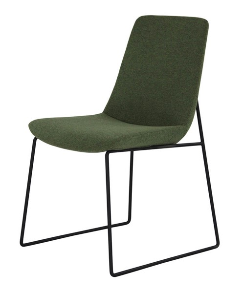 2 Moes Home Ruth Green Dining Chairs MOE-EJ-1007-27