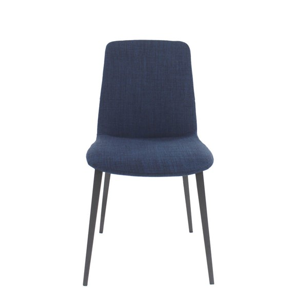 2 Moes Home Kito Blue Dining Chairs MOE-EJ-1017-26