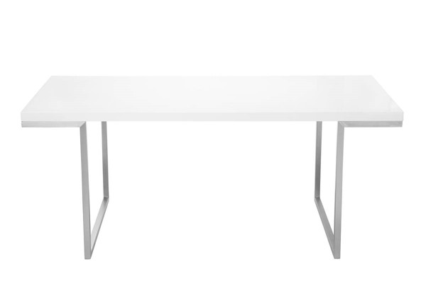 Castle Designs Repetir White Lacquer Dining Table CTL-ER-1022-18