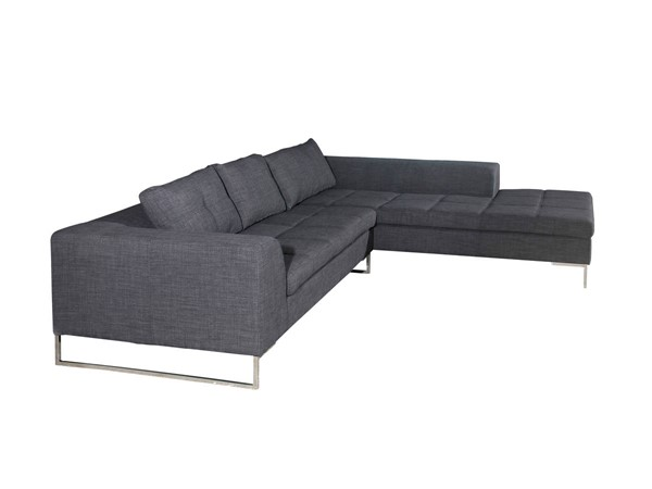 Moes Home Sulla Dark Grey Right Sectional MOE-ER-1133-25-R