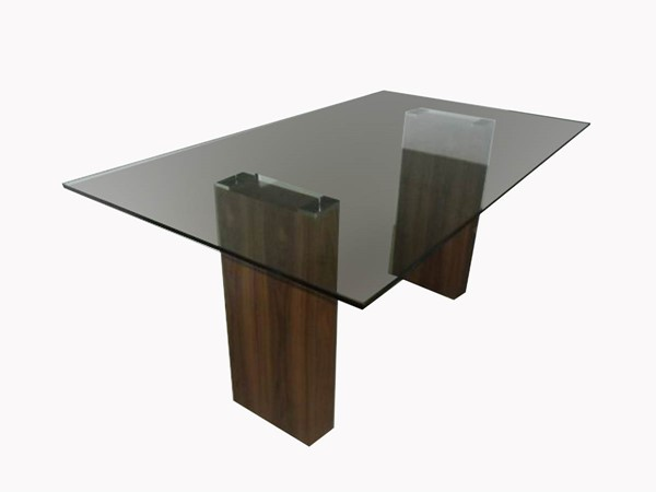 Castle Designs Promo Clear Dining Table CTL-ER-1134-17