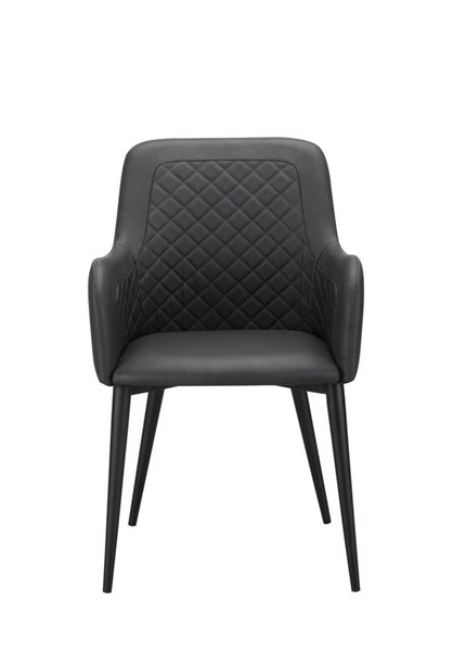 2 Moes Home Cantata Black Dining Chairs MOE-ER-2040-02