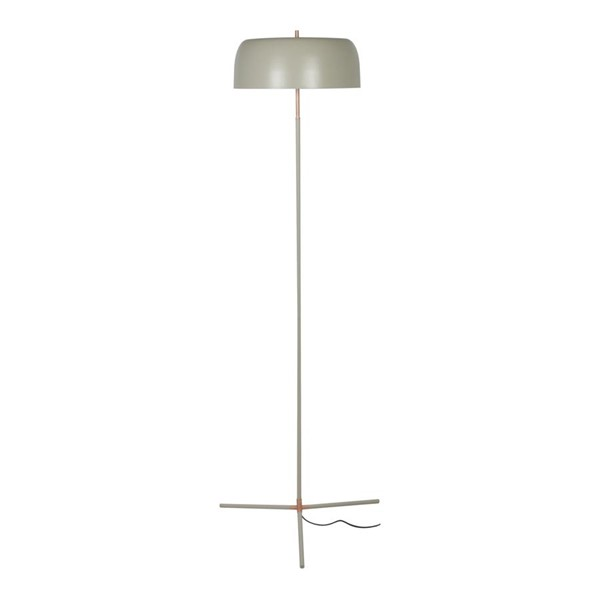 Moes Home Barrett Grey Round Shade Floor Lamp MOE-FD-1037-15
