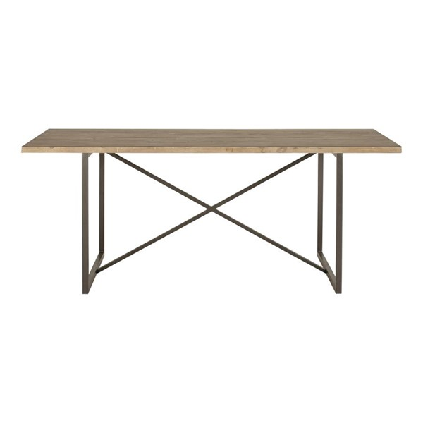 Moes Home Sierra Wood Rectangle Dining Table MOE-FR-1017-23