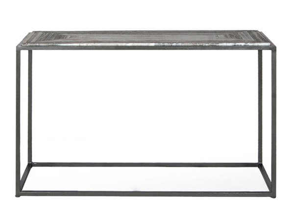 Moes Home Windslow Modern Grey Marble Console Table MOE-GK-1003-15