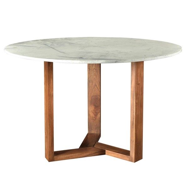 Moes Home Jinxx White Marble Dining Table MOE-JD-1009-18