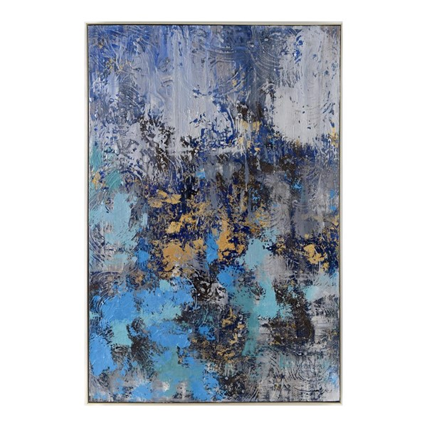 Moes Home Dreams In Blue Wall Decor MOE-JQ-1012-37