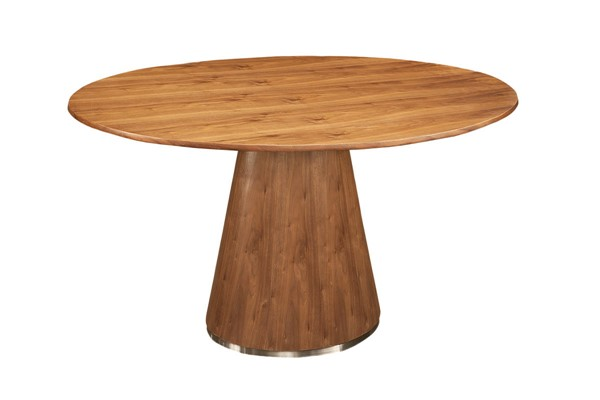 Castle Designs Otago Brown Round Dining Table CTL-KC-1028-03