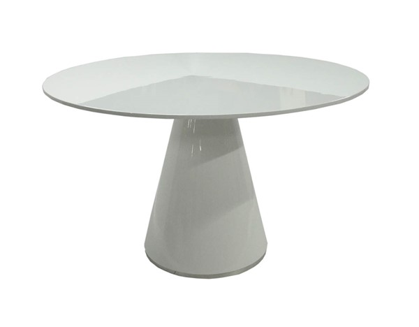 Castle Designs Otago White Round Dining Table CTL-KC-1028-18
