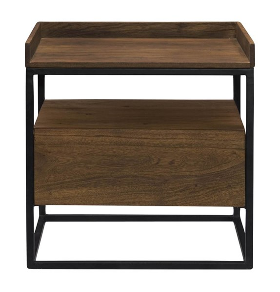 Moes Home Vancouver Light Brown Side Table MOE-LX-1025-03