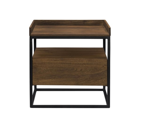 Castle Designs Vancouver Light Brown Side Table CTL-LX-1025-03
