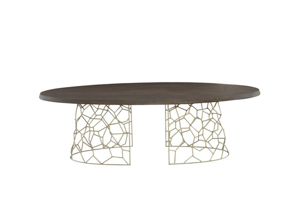 Castle Designs Ario Dark Brown Dining Table CTL-LX-1045-03