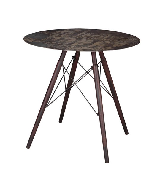 Castle Designs Hetfield Dark Grey Cafe Table CTL-ML-1003-25