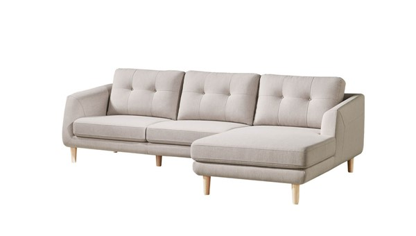 Moes Home Corey Light Grey Right Sectional MOE-MT-1002-29-R