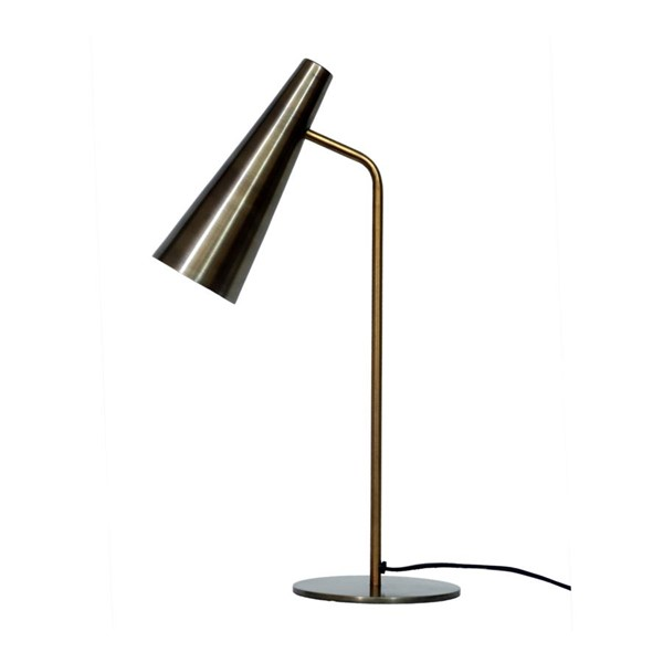 Moes Home Antique Brass Trumpet Table Lamp MOE-OD-1006-51