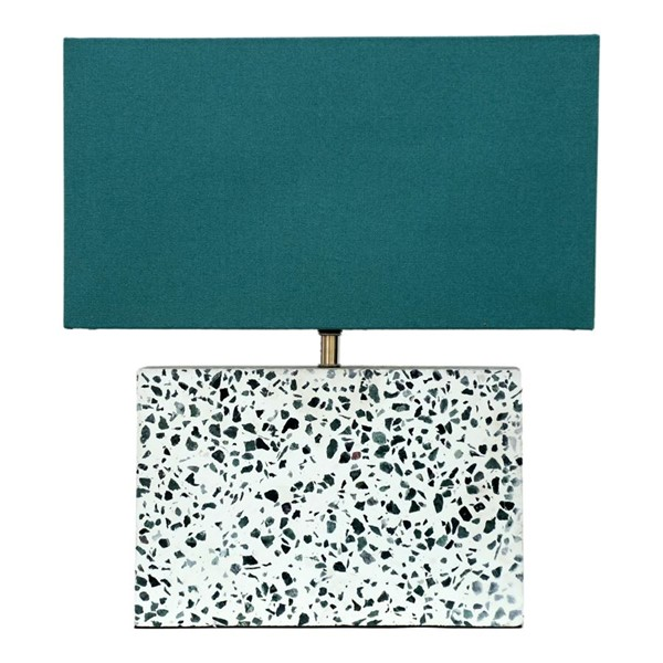 Moes Home Terrazzo Marble Square Table Lamp MOE-OD-1008-37