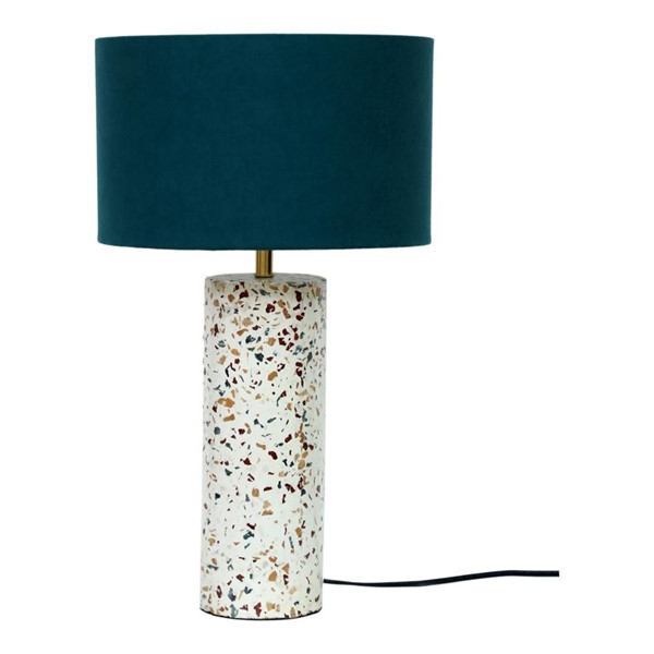 Moes Home Terrazzo Marble Cylinder Table Lamp MOE-OD-1010-37