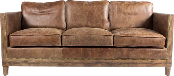 Moes Home Darlington Light Brown Sofa MOE-PK-1031-03