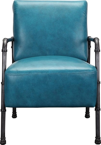 Moes Home Royce Blue Club Chair MOE-PK-1037-26