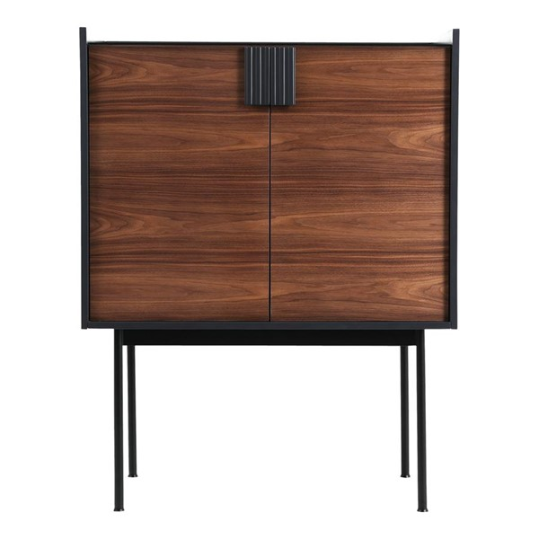 Moes Home Yasmin Brown Modern Bar Cabinet MOE-PX-1004-03