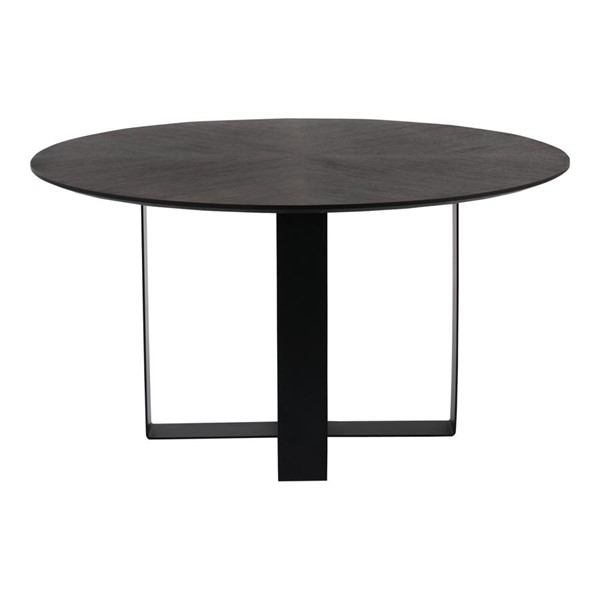 Moes Home Waite Dark Brown Modern Round Dining Table MOE-PX-1006-20