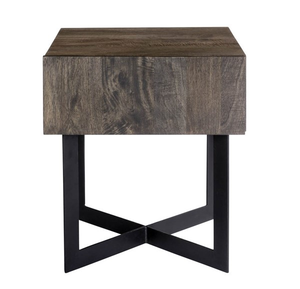 Moes Home Tiburon Natural Side Table MOE-SR-1020-24