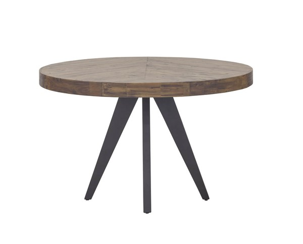 Castle Designs Parq Cappuccino Round Dining Table CTL-TL-1010-14